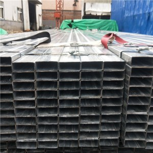 Galvanized Rectangular Steel Tube Q195