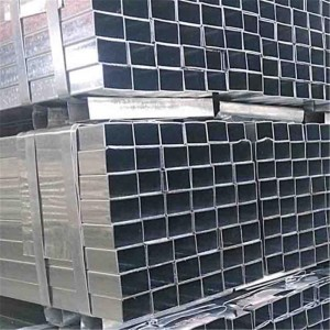 Hollow Section Structural Steel Galvanized Rectangular Tube