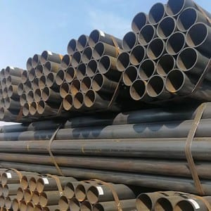 black ERW welded pipe