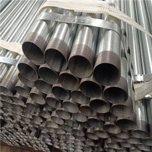 Galvanized Thread Steel Pipes BS1387 / Water pipe
