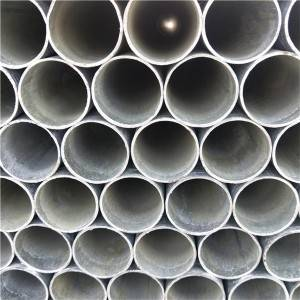 Galvanized Building Steel Round Pipe Q235 for Furniture