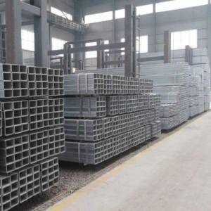 Galvanized Square Pipe Q235 / building