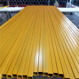 Galvanized Powder Coating Square Tube Q235b for umbrella