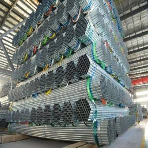 2mm Thickness Galvanized Iron Steel Pipe for scaffolding materials