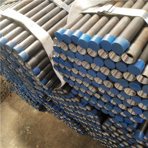 Gi Pipe with Threaded Q235B Carbon Steel Pipe Two End Threaded