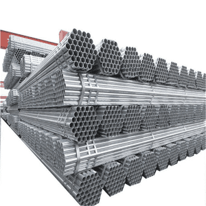 Galvanized round Steel Pipe ASTM A53 for construction pipe