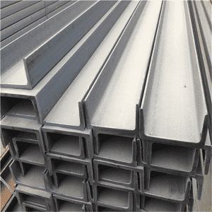 Hot DIP Galvanized Steel C Channel SS400 For Structural Steel