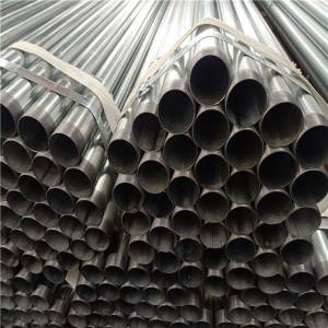 thread pipe galvanized steel Q235B / water pipe