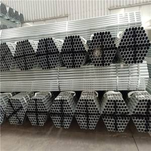 scaffolding galvanized steel pipe fitting carbon / construction pipe