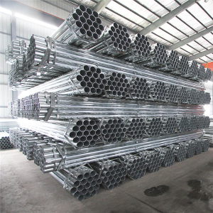 Customized 48.3MM Galvanized Scaffolding Steel Pipe 6M For Building Materials