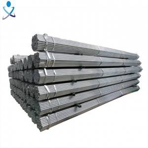 Gi Pipe Pre Galvanized Steel Pipe Q235 Building Materials