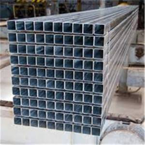 40X40 Steel Galvanized Square Steel Pipe Q235B for Furniture tube