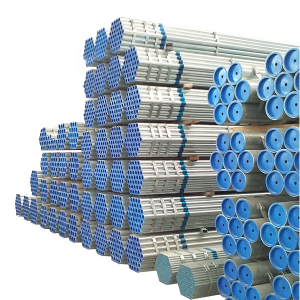 Galvanized Iron Pipe Steel Structure Pipe Q235B For Building Materials