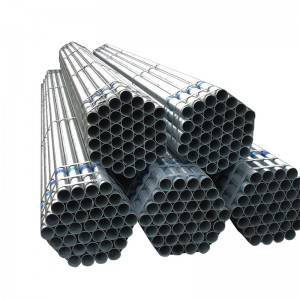 Hot Dip Galvanized Steel Pipe Q235 / building