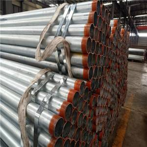 pipe thread tape galvanized steel pipe Q235B / construction pipe