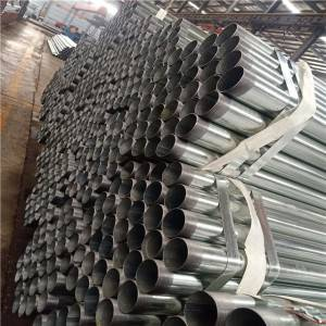 threaded-galvanized-pipe-3-inch Q235B / metal building materials