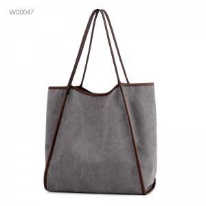 custom women large utility tote bag canvas bag