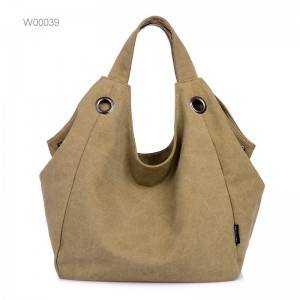 Women Canvas Cross Body Shoulder Bag Canvas Tote Bag