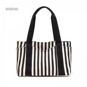 2019 Fashionable canvas large handbags Women's Canvas Shoulder Tote Hand Bag