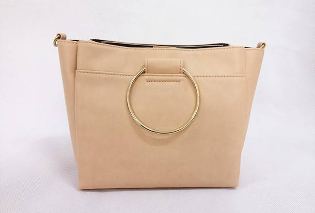 Yellow ring portable + crossbody bag