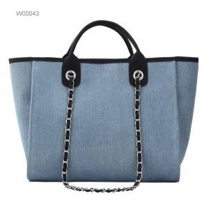 OEM color women standard cotton personalized size tote canvas bag