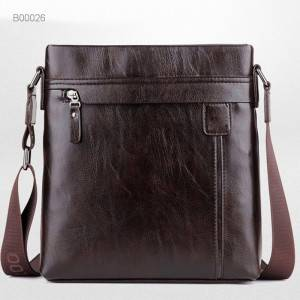 Briefcase Man Shoulder Bag pu Leather