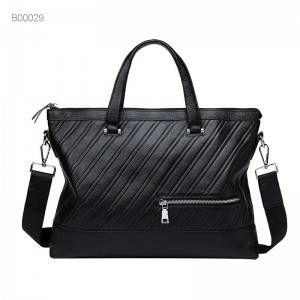 good quality leather laptop briefcase bag men pu leather