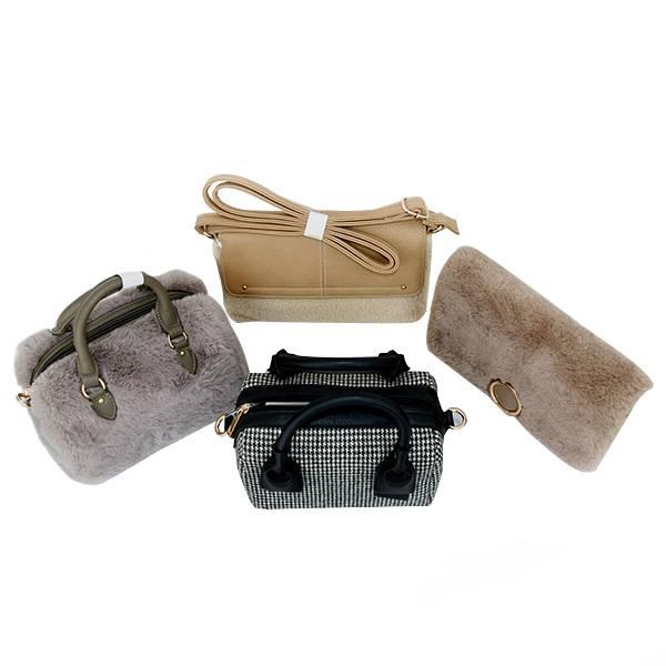2e5b971c2575 China 2019 furry bag female autumn winter tide Korean version of ...