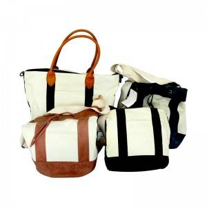 Canvas white bag