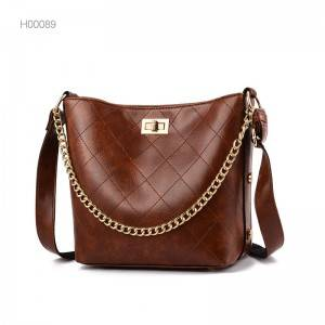 New design fashion leisure PU leather bags women handbags