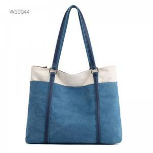Wholesale canvas tote bag women shopping bags canvas tote bags