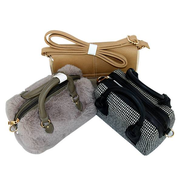 7a768c2577f2 China Factory Promotional Women Crossbody Bag - 2019 furry bag ...