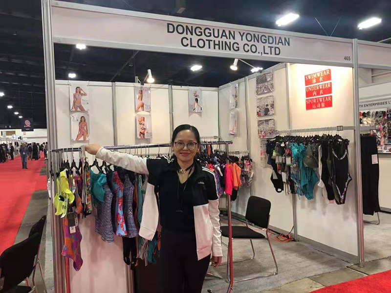 Adeline Hong(Boss) at the Canada exhibitions