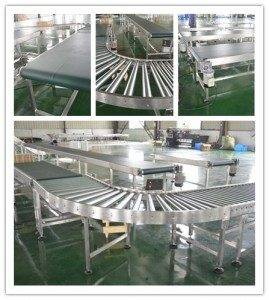 Hairise Belt Roller Conveyor in Medical Industry