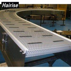 Hairise Curved Conveyors with Modular Belts