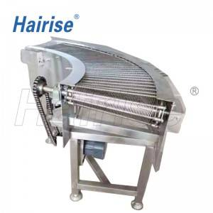 Hairise producting conveyor for potato chips transfering