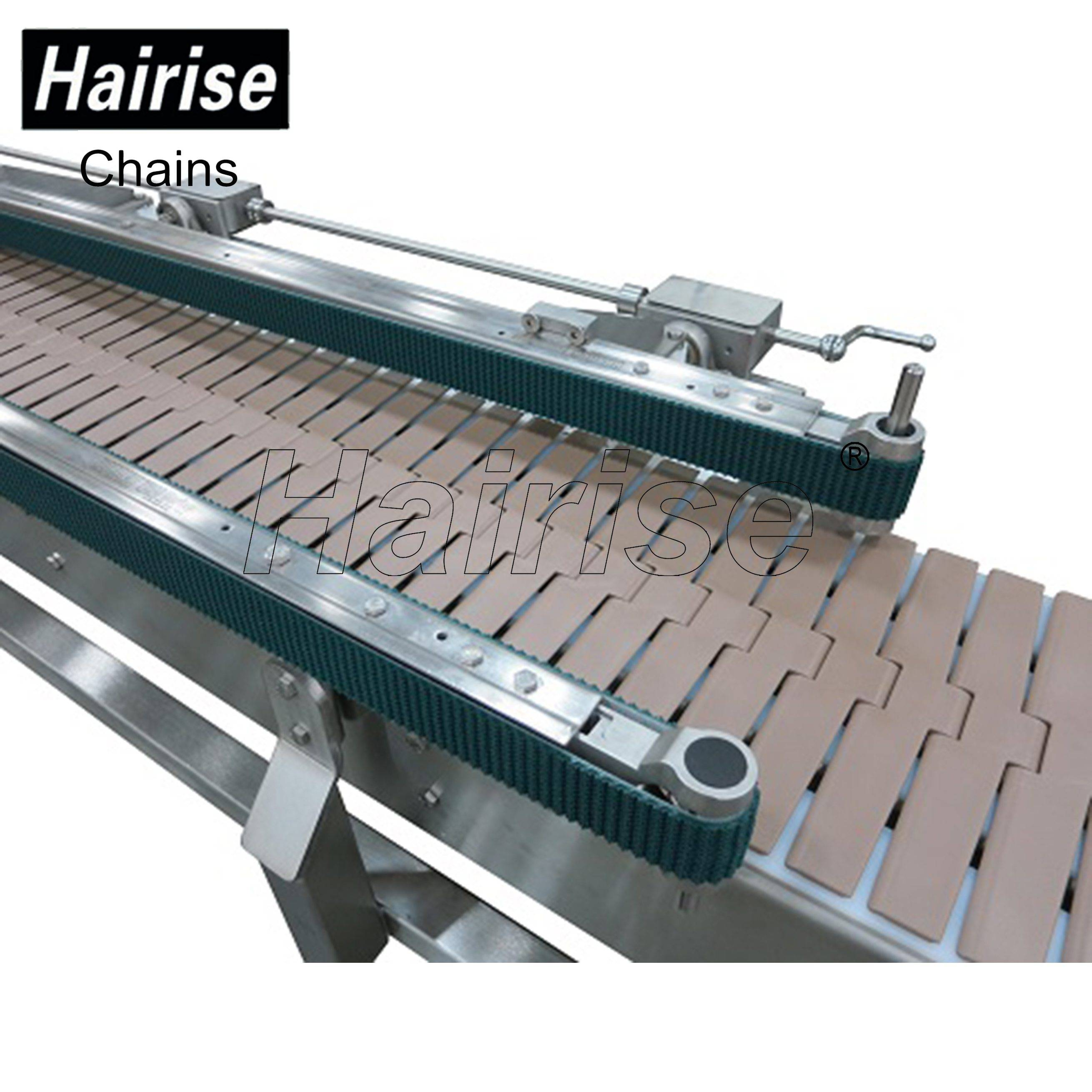 Hairise Straight Conveyor with Plastic Top Chains