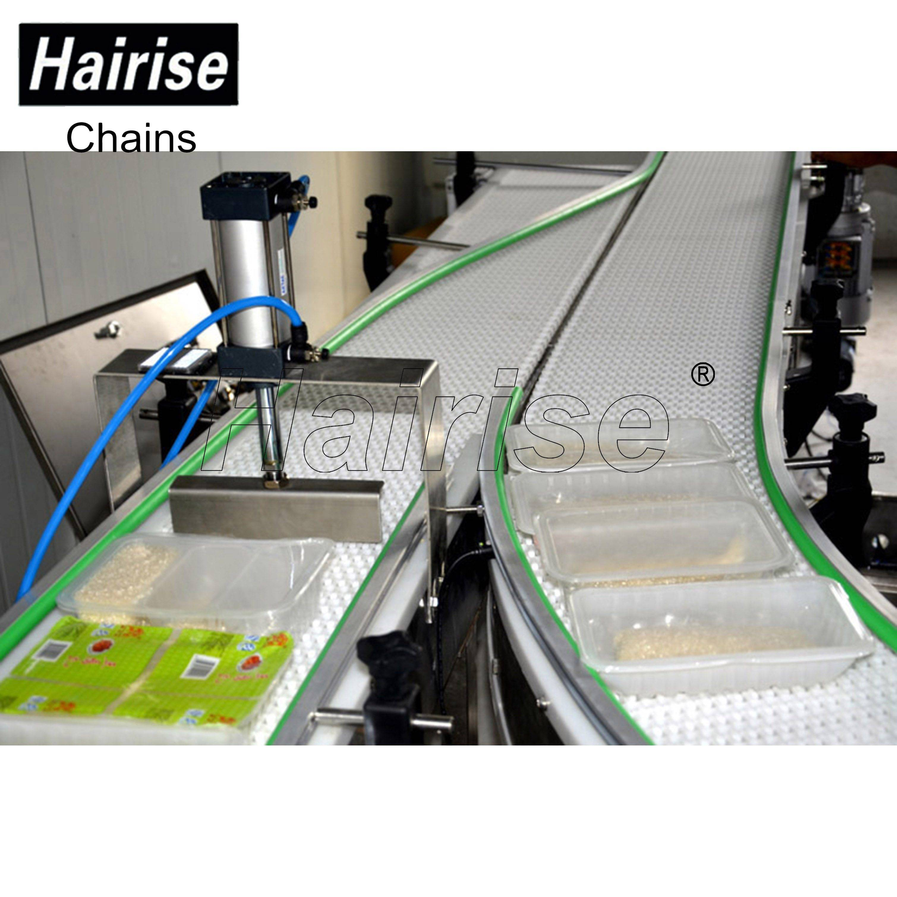 Hairise Detector Conveyors with Modular Belts or Slat Top Chains