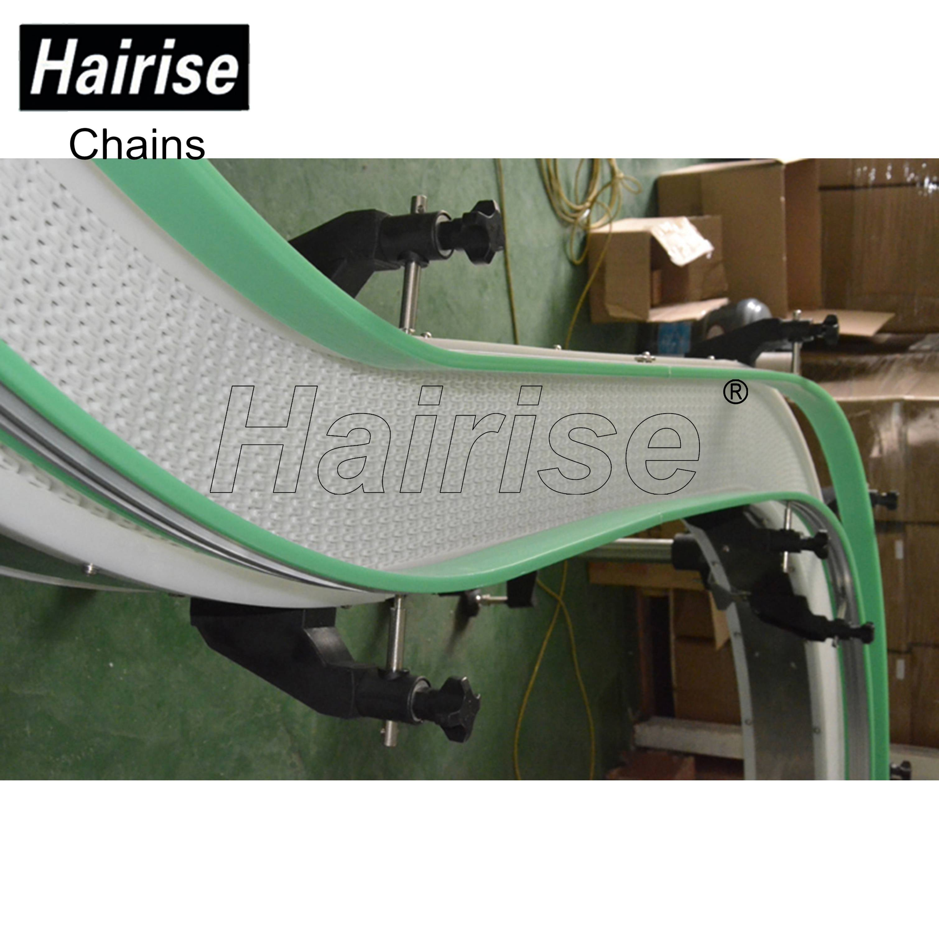 Hairise White Modular Belt Conveyor with S Curve Featured Image