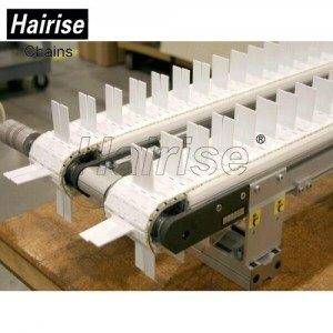 Hairise Straight Modular Belt Conveyor with Flights