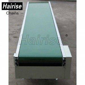 Hairise Straigh PVC Belt Conveyor System with Adjustable Speed