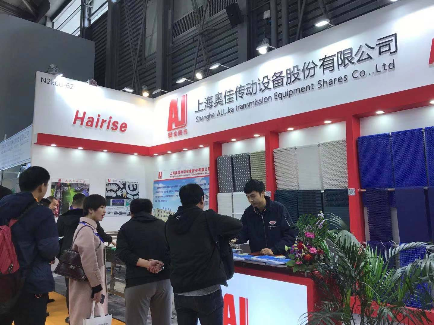 Hairise Conveyor for Shanghai Exhibition