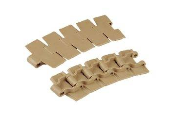 The series of Har-828T plastic slat top chains