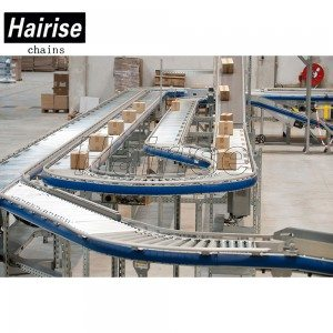 Hairise Straight/Curve Roller Conveyor for Boxes Conveying