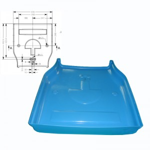 China New Product Garbage Bin Moulds - 2019 Good Quality Custom Oem Precision Plastic Plastic Injection Molding Rapid Prototyping Services – Hitop