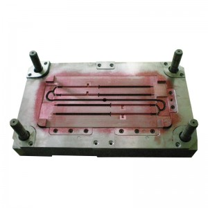 Screw pin mold making and injection moulding,mold manufacturer