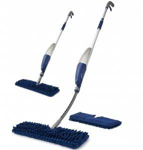 Flexible Microfiber Spray Mop with Reusable Cloth Pads