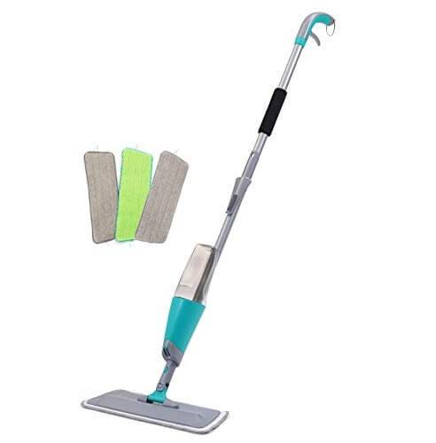 Top Quality Easy Operate Flat Mop - Spray Floor Mop Kit with 3 Reusable Microfiber Pads – Yaxiang Featured Image