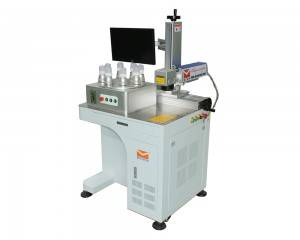 Bulbs Fiber Laser Marking Machine