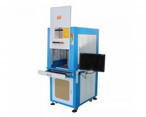 Enclosed Serat laser nyirian Mesin